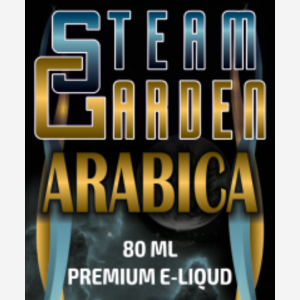 e cigi gold steam garden arabica 80ml e liquid