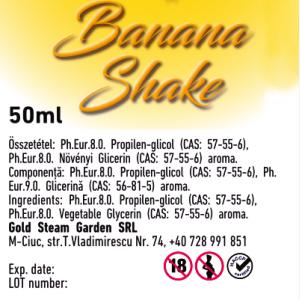 Vortex by Bloss Banana Shake prémium e liquid