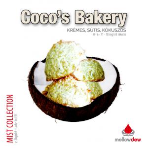 elektromos cigi mellow dew cocos bakery