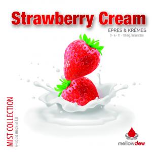 elektromos cigi mellow dew strawberry cream