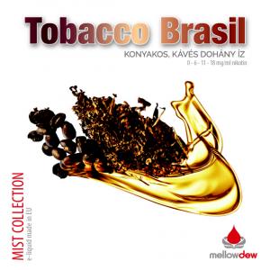 Intenzív brazil dohányalap, megspékelve egy kis konyak illetve kávéízzel..