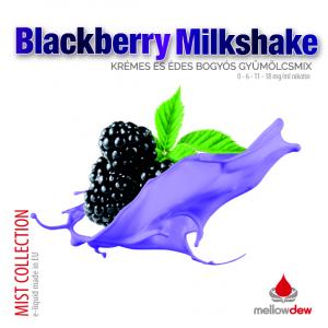 elektromos cigi mellow dew blackberry milkshake