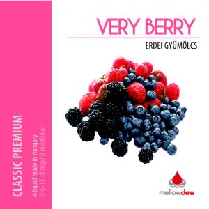 Mellow Dew Very Berry e liquid