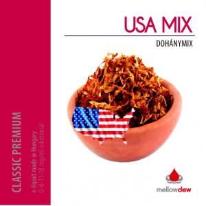Mellow Dew USA MIX dohány e liquid