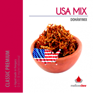Mellow Dew USA MIX dohány e liquid