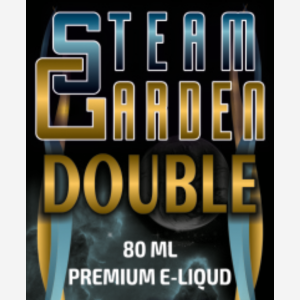 Gold Steam Garden Double 80 ml illatos dohány e liquid