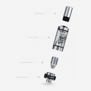 eleaf gs turbo tank stainless steel