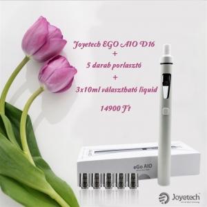 JOYETECH eGo AIO D16 + 3 választható liquid
