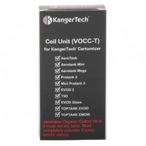elektromos cigi kangertech vocc 1.8 ohm kazán 5 darab