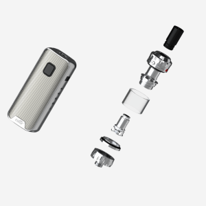 ALLinONE csomag Eleaf iStick Amnis 2 kit GTiO tankkal ezüst