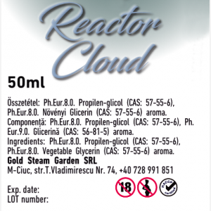 Vortex by Bloss Reactor Cloud prémium e liquid