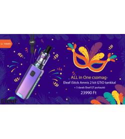 ALLinONE csomag Eleaf iStick Amnis 2 kit GTiO tankkal rainbow