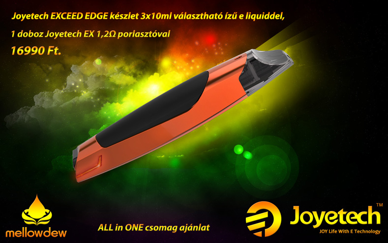 Joyetech Exceed Edge All in One csomag